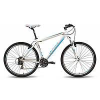 """Велосипед 27,5"""" PRIDE 650 V рама - 21"""" бело-синий матовый 2016"""