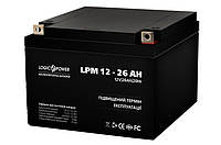 Аккумуляторная батарея LogicPower 12V - 26Ah CA 12260 свинцово-кислотный