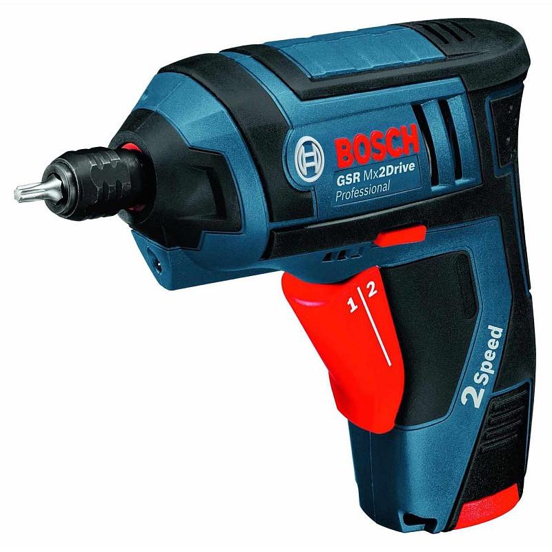 Аккумуляторный шуруповерт Bosch GSR Mx2Drive, 06019A2101