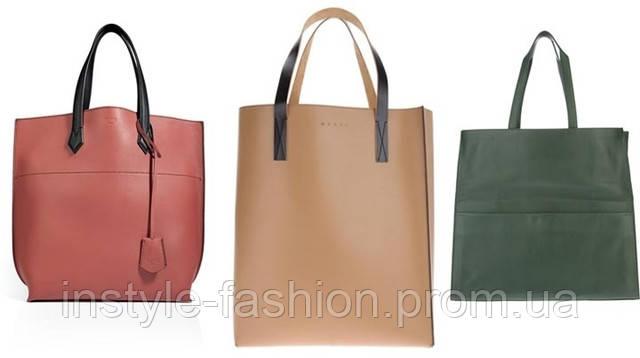 Фото женская сумка шоппер