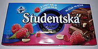 Шоколад ORION Studentska молочный с арахисом и малиной 180g