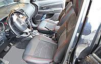 Чехлы на Митсубиси АСХ (авточехлы Mitsubishi ASX, Lether style)