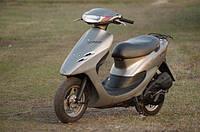 Мопед Honda Dio 34 (серо-горчичный) 49 см.куб, фото 1