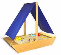Детская песочница тематическая Парусник