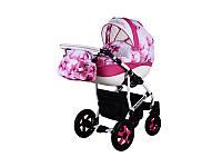 """Детская коляска 2в1  """"Carmela Fresh"""" розовая"""