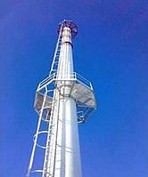Дымовые и вентиляционные промышленные трубы и металлоконструкции – изготовление и монтаж с гарантией 5 лет, оп
