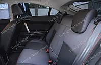 Чехлы на сиденья MG 6 (чехлы из экокожи МГ 6 стиль Premium)