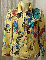 Пиджак женский летний яркий хлопок р.44 6249, фото 1