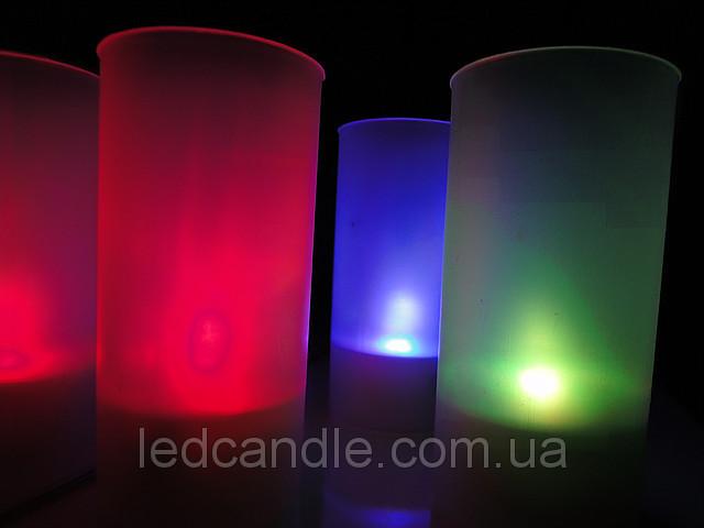свечи, меняющие при горении цвет