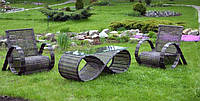 Меблі з ротангу, фото 1