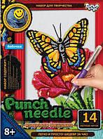 Бабочка. Набор для вышивки в ковровой технике.