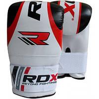 Снарядные перчатки битки RDX Red белый с красным