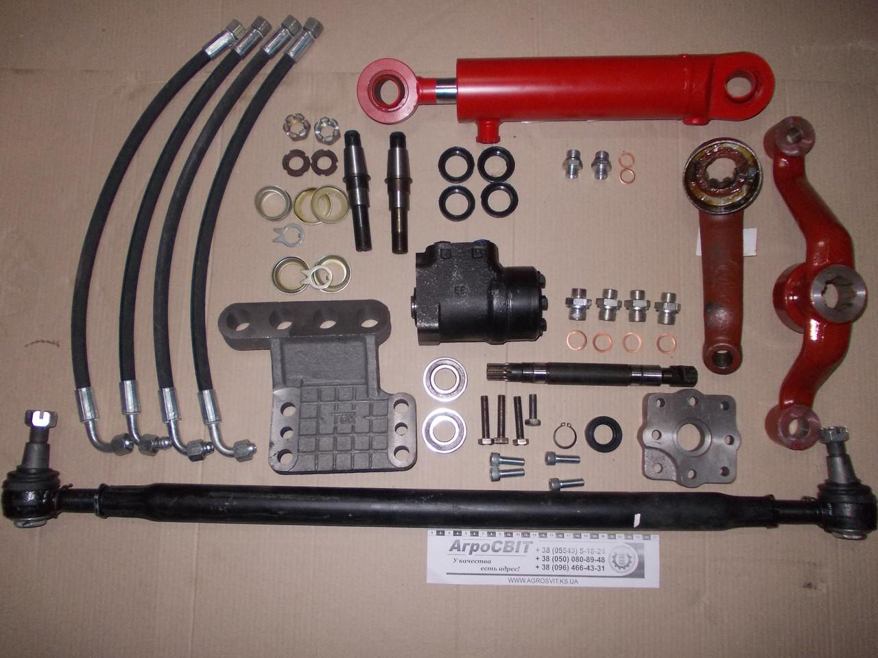Набор для переоборудования рулевого управления МТЗ-80 под насос-дозатор (с блокировкой дифференциала)