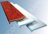 Подоконник пластиковый Опентек Ширина 350мм x за метр с порезкой