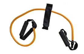 Эспандер для фитнеса оранжевый (l-120 см)