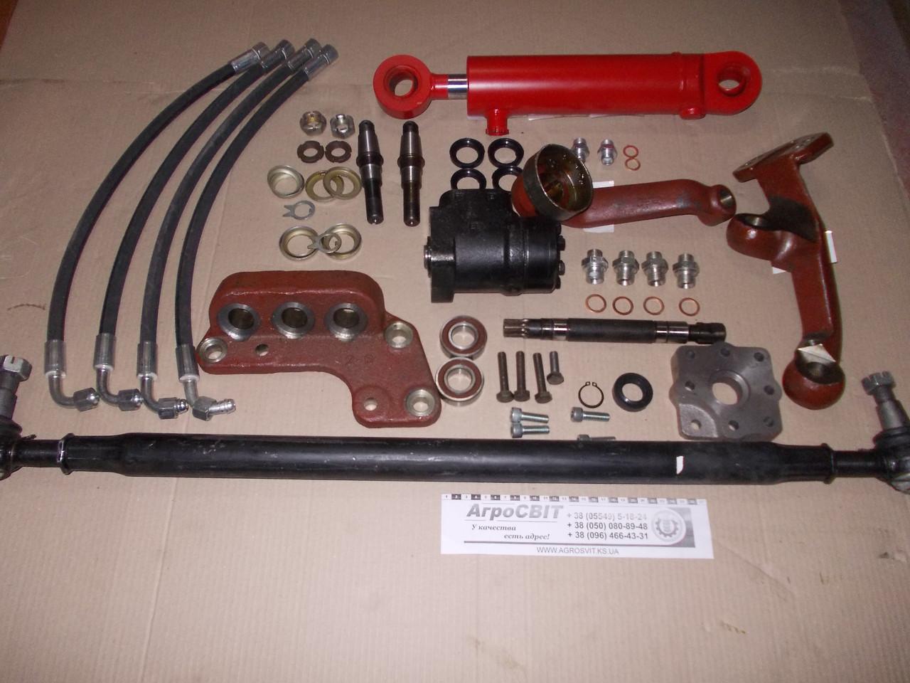 Набор для переоборудования рулевого управления МТЗ-82 под насос-дозатор (с блокировкой дифференциала)