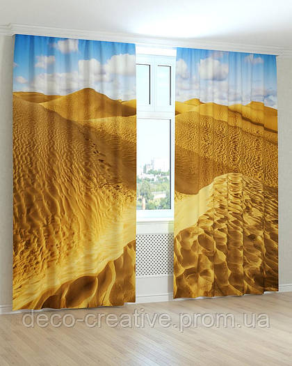 Фотошторы пустыня