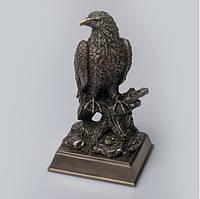 Подарочная статуэтка Veronese Орел с бронзовым покрытием 76779A4, символ храбрости