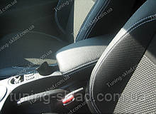 Чохли на сидіння Ніссан Кашкай (чохли з екошкіри Nissan Qashqai стиль Premium)