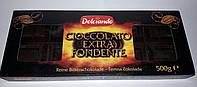 Шоколад черный Dolciando, Cioccolato extra Fondente, Италия, 500g