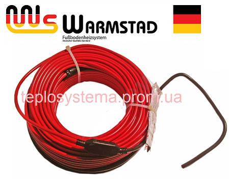 Теплый пол - Двухжильный нагревательный кабель WARMSTAD  WSS - 110 Вт  (0,6 – 0,8 м2), фото 2