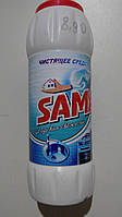 Чистящее средство для посуды, SAMA, морская свежесть, 500 г