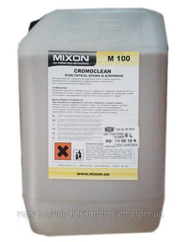 Очиститель хрома и алюминия Mixon CROMOCLEAN M-100 5 л