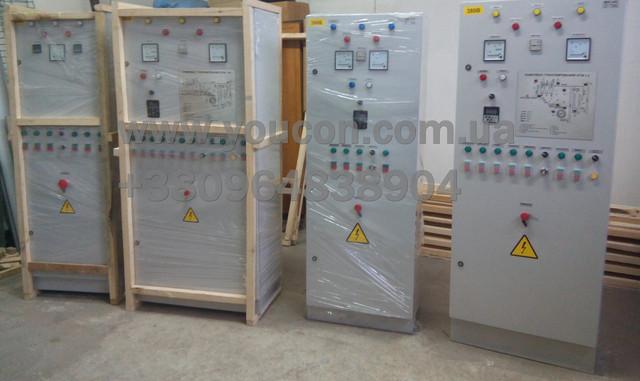 Шкафы управления и защита электродвигателей (Комплектующие шкафа управления)