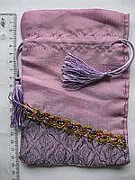 Мешочки-кисет из парчи для подарков 13,5 х 19,5 см