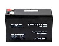 Аккумулятор свинцовый Logicpower 12V - 9,0 Ah LPM 150х65х95