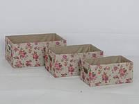 Корзина короб Цветы, размер М