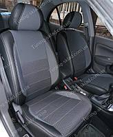 Чехлы на сиденья Ниссан Альмера классик (чехлы из экокожи Nissan Almera classic стиль Premium)