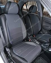 Чохли на сидіння Ніссан Альмера класік (чохли з екошкіри Nissan Almera classic стиль Premium)
