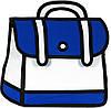Городской молодежный рюкзак из полиэстера 7 л. Traum 7022-06
