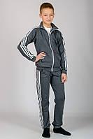 Спортивный костюм детский темно-серый, фото 1