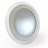 Точечный светодиодный светильник Glass Rim 18W