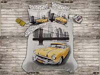 Комплект бамбукового постельного белья Prima Casa Yellow taxi