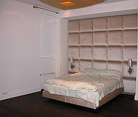 Кровать двуспальная с мягким изголовьем трансформер  (принимает любую форму), фото 1