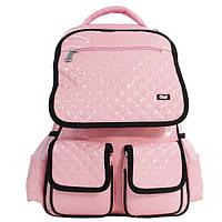 Рюкзак OL-2515 Lady fashion розовый/черный