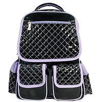 Рюкзак OL-2615 Lady fashion черный/сиреневый