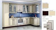 Кухня угловая МДФ, эконом стандарт-1