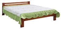 Кровать  деревянная 90 670х900х2000мм    Мебель-Сервис