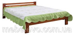 Кровать  деревянная 160 670х1600х2000мм    Мебель-Сервис