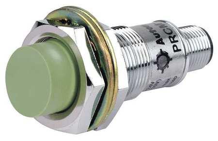 Датчик приближения индуктивный 8 мм, выступающий, резьба М18, PNP, нормально открытый, с разъемом