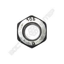 Гайка высокопрочная М16 ГОСТ Р 52645-2006   Размеры, вес, фото 3