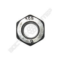 Гайка высокопрочная М22 ГОСТ Р 52645-2006 | Размеры, вес, фото 3