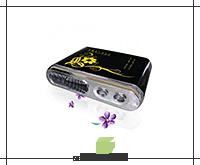 Автомобильный анионный озонатор ионизатор, JQ-007 (3 в 1 Озонатор. Ионизатор. Аромамасла.)