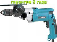 Дрель с металлическим редуктором на 720 Ватт Makita HP2051H