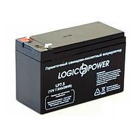 Аккумуляторная батарея LogicPower 12V - 7.5Ah LPM свинцово-кислотный