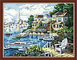 """Картина раскраска по номерам на холсте """"Тихая гавань"""", 40х50см (MG210, КН210), фото 10"""